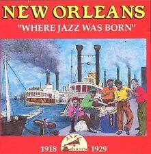 New Orleans / Where Jazz Was Born - 1918-1929