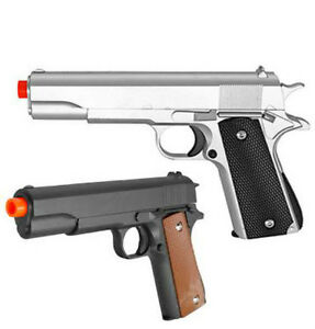 G13 Galaxy Airsoft Spring Action Pistol M1911 Colt 1911 Metal Gun Black