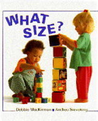 What Size? (Right Start), MacKinnon, Debbie, Very Good Book