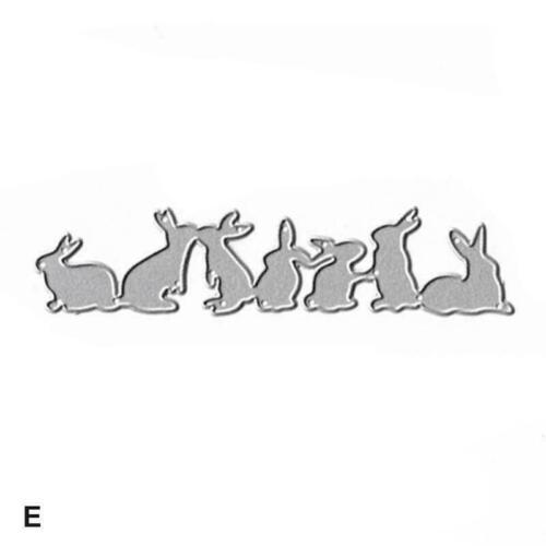 Cutting Dies Stencil DIY Scrapbooking Embossing Album Craft Paper Card E3U6