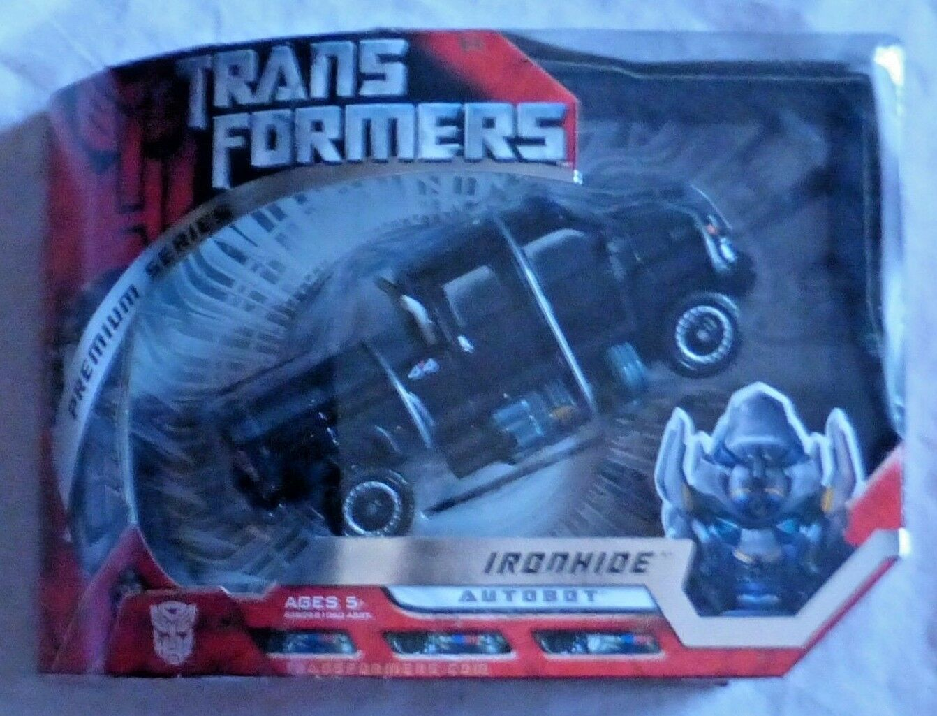 Hasbro Transformers Movie Premium Ironhide Voyager Action Figure MISB Sealed New