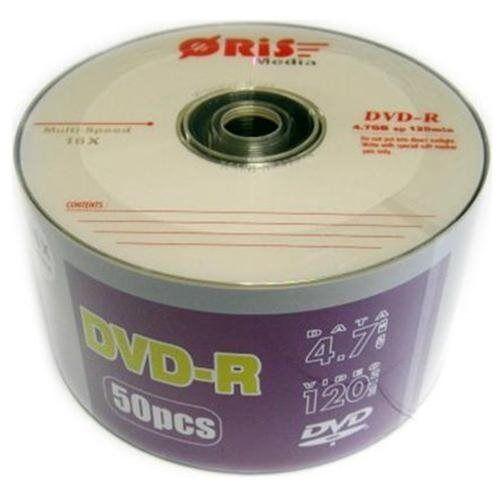 100-Pack ORIS Branded 16X Logo Top DVD-R DVDR Blank Disc 4.7GB