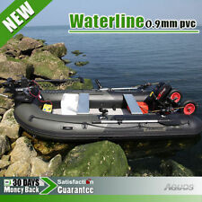 12.5' Inflatable Boat fishing boat Tender Dinghy Raft Zodiac Mercury avon Type