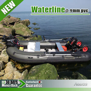 12 5 Inflatable Boat Fishing Boat Tender Dinghy Raft