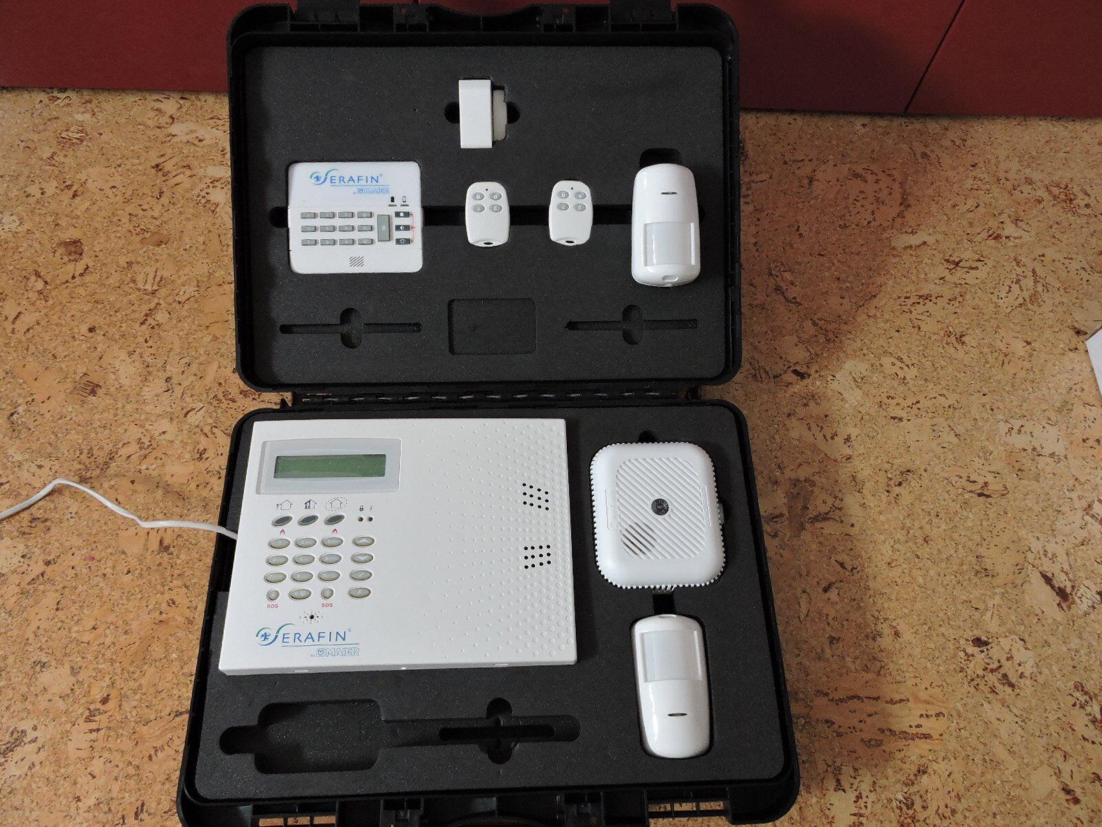 Funk GSM Alarmanlage SET 868 Mhz mit verschlüsseltem Code belieb. erweiterbar