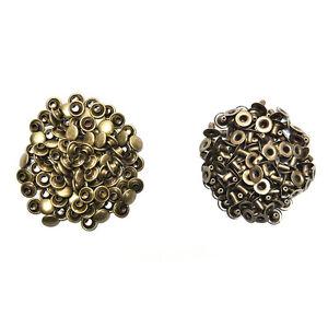 100X-3-tailles-en-laiton-Double-Cap-artisanat-en-cuir-DIY-rivets-rapides-riveLTA