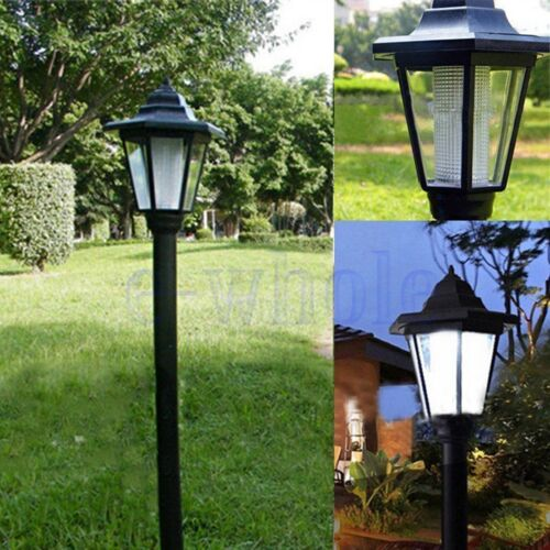 Solar Power LED Path Way Wall Landscape Mount Garden Fence Outdoor Lamp Light K6