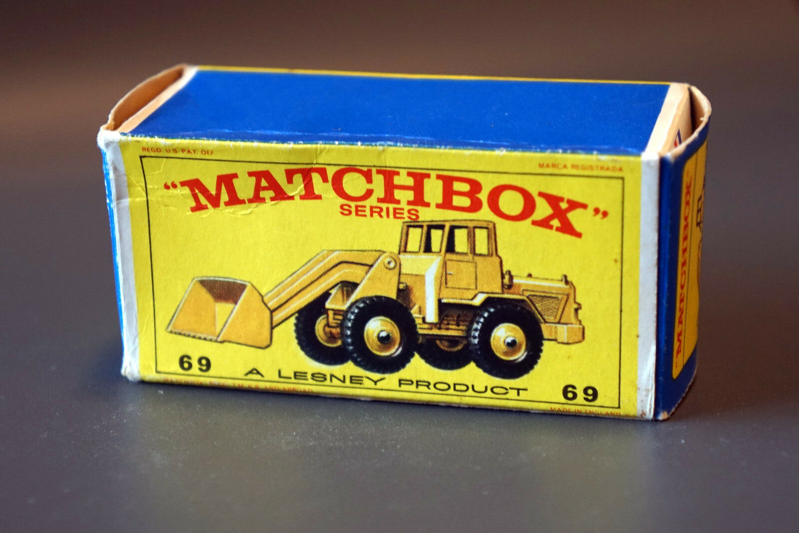 compra limitada Matchbox Lesney RW no 69b tractor Shovel (Hatra) con con con caja  compras en linea