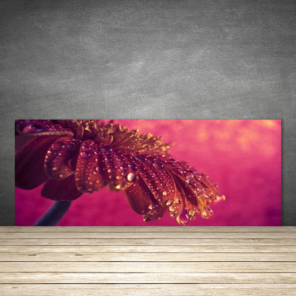 Crédence de cuisine en verre Panneau 125x50 Floral Arbre