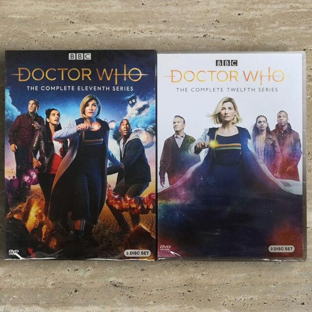 Doctor Who Season 11 & 12 (DVD, 2020, 6-Disc Set) Fast Shipping US Seller