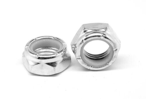 #5-40 Coarse Nyloc NTM Thin Stainless Steel 316 Nylon Insert Locknut