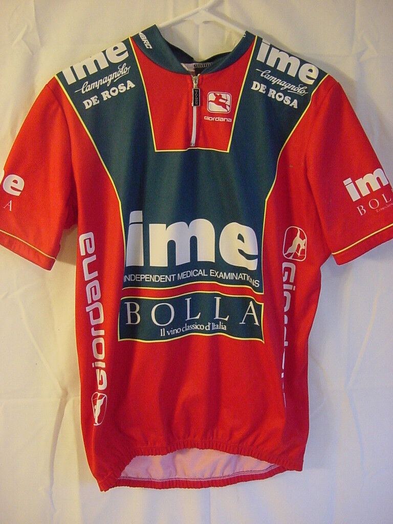 Giordana Cycling Bike Jersey - Mens Size Large