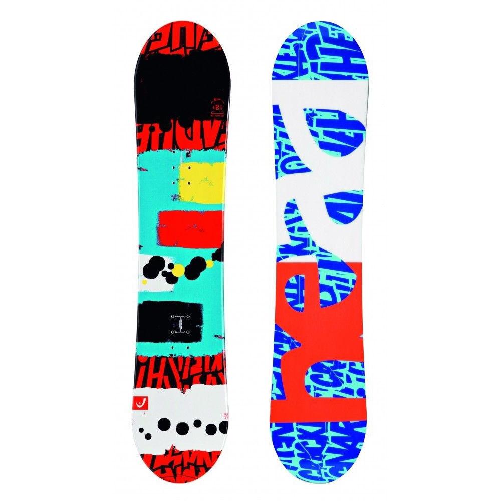 HEAD Rowdy JR 118 Snowboard Kinder Board Kid Youth Grom Junior Anfänger Brett