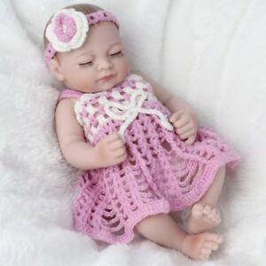 Girls-Reborn-Dolls-Full-Silicone-Vinyl-Newborn-Doll-Washable-Xmas-Gift-10-034