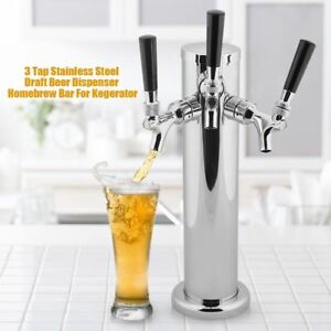 3 Taps Domestic Draft Beer Dispenser