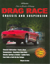 How to Build a Winning Drag Race Chassis and Suspension Book-NEW