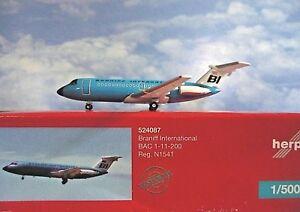 Herpa-Wings-1-500-Bac-1-11-200-Braniff-International-524087-Modellairport500