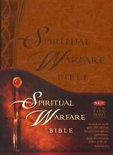 Spititual Warfare NKJV HOLY BIBLE New King James Version Imitation Brown Leather