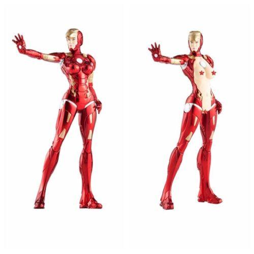 20cm Iron Lady Ironman Girl Ver MK8 Action Figure New No Box