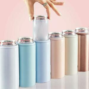 12oz-Can-Beer-Cooler-Keeper-Insulator-Holder-Thermos-Cold-Vacuum-Stainless-Steel