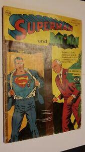 Supermann Nr.17 von 1967,Zustand 3-,Ehapa,Comic,Superhelden,Sammlung,Vintage