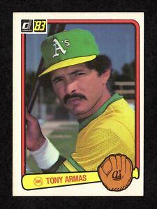1983 Donruss #71 Tony Armas Oakland Athletics Baseball Card EX/MT+