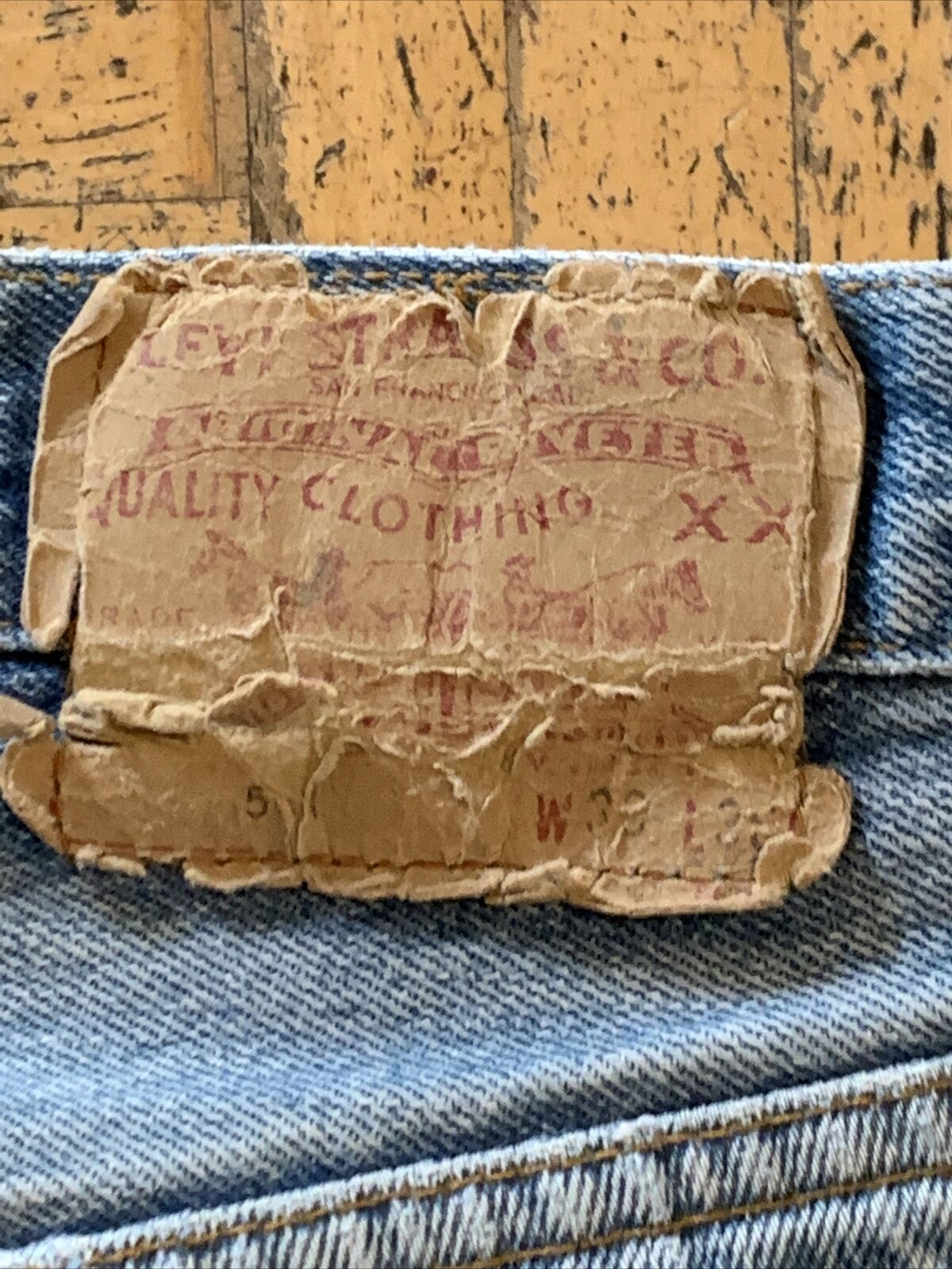 vtg levis 501 made in usa (9) - image 6