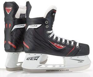8cd44627b05 New CCM RBZ 60 ice hockey skates junior size 2.5 D black regular ...