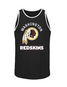 119fbd64 Details about NFL Washington Redskins Majestic Go Far Tank Top - Black -  Men's Tank