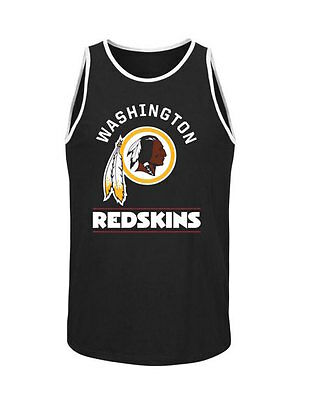360607cf NFL Washington Redskins Majestic Go Far Tank Top - Black - Men's Tank | eBay