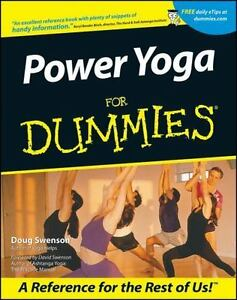 Power Yoga for Dummies EXERCISE HEALTH FITNESS NEW BOOK, UNUSED, NO MARKS