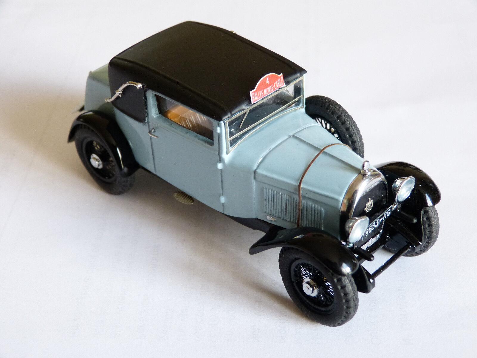 Kit pour miniature auto CCC   Hotchkiss AM80S Monté Carlo 1934