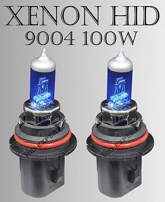 JDM x2 9004 HB1 DOT Xenon White 12V 100/80W Direct Plugin Replace Light Bulb b98