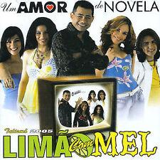 LIMAO COM MEL - UN AMOR DEL NOVELA NEW CD
