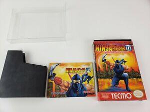 Ninja Gaiden Iii 3 Nintendo Nes Box Manual Sleeve Only