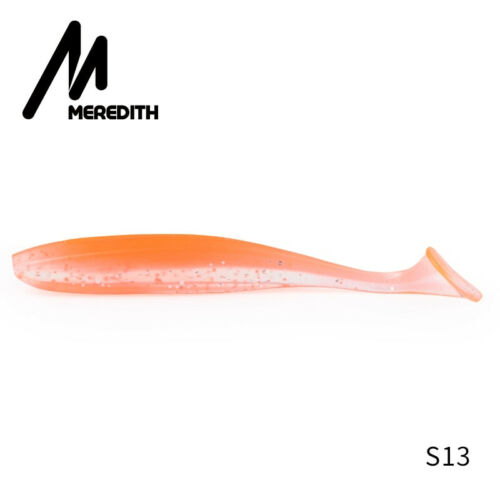 Meredith Fishing Silicone Lures 50-75-100-130mm Soft Bait Tackle Artificial