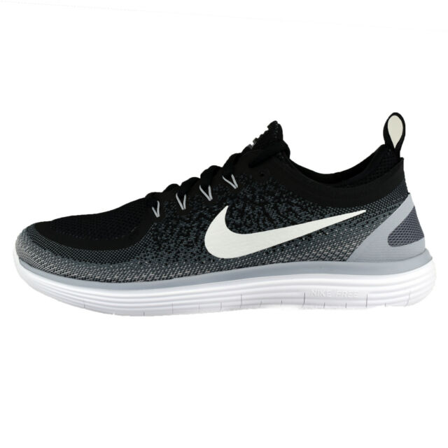 9a20e20a056 Nike Womens RN Distance 2 Run Running Shoes 863776-001 Sz 8 Black ...