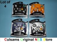 4 Nintendo Controllers For Wii Or Gamecube With A 30 Day Guarantee