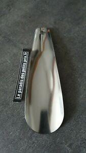 chausse pied en INOX de 16,5 cm, chausse-pieds en métal ,Fabrication Française