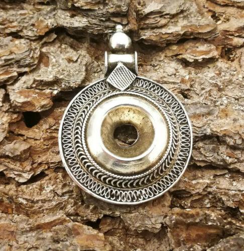 Modelle Trendige ETHNO Amulette Anhänger massiv 925 Sterling Silber 6 versch