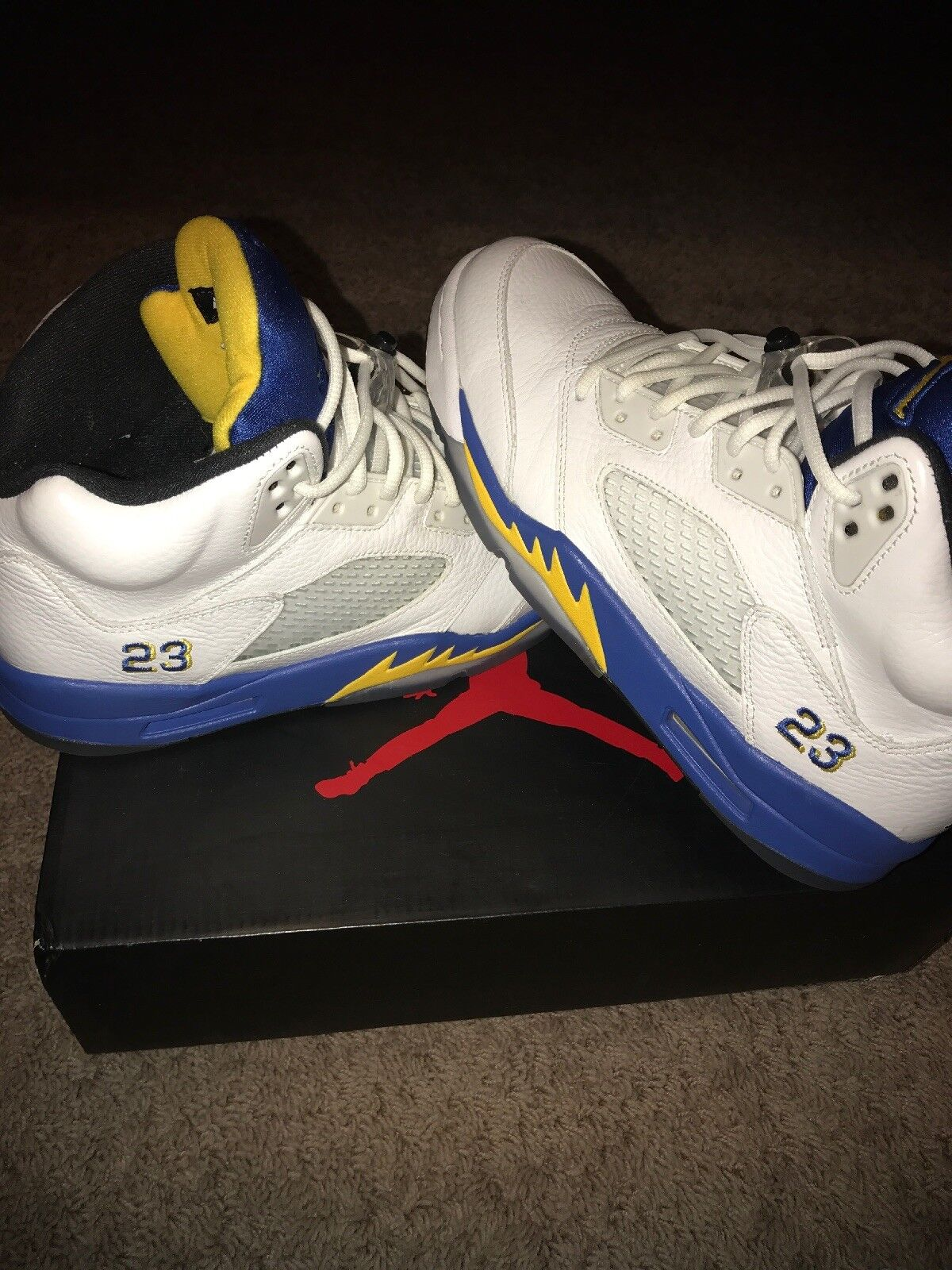 "Retro Jordan Size 9.5 ""Laney"" NEW"