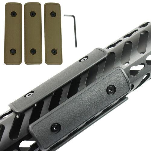 "Hunting Rifle Mounts 3pcs//set 4/"" Keymod Rail Panel Handguard Cover Protectors"