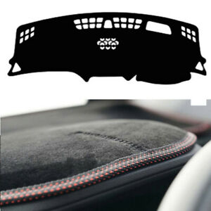 Velvet-Non-Slip-Dash-Cover-Red-Stitch-for-10-2017-2020-Holden-Equinox-with-FCA