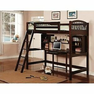 b45f064f1c6e9 Coaster Bunks Twin Workstation Bunk Bed - 460063 for sale online