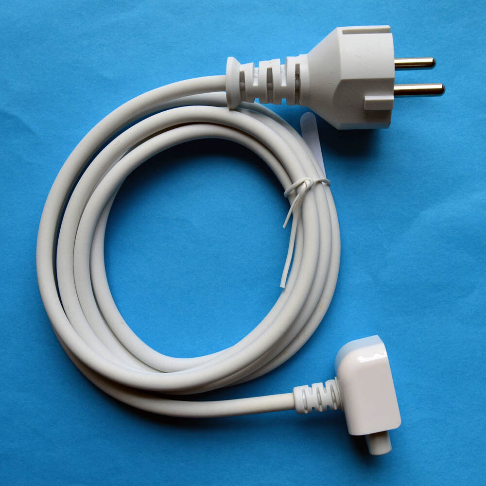 power extension cable cord for apple macbook pro air ac wall charger adapter mus ebay. Black Bedroom Furniture Sets. Home Design Ideas