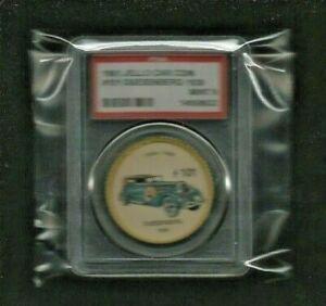 "1961 Jello Car Coins ""1930 DUESENBERG"" #101 Graded PSA 9 MINT! RARE CONDITION"