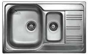 Spüle 80 Cm.Details Zu Einbauspüle Edelstahlspüle Küche Spüle 50 X 80 Cm 1 5 Becken Zusatzbecken Ze