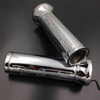 For Yamaha Yzf-r1 Yzf R1 Japanese Bike Chrome 7/8''inch Handlebar Grips