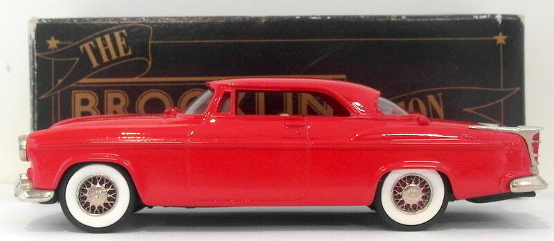 Brooklin 1 43 Scale BRK19 001A  - 1955 Chrysler C300 Hardtop Coupe  rojo