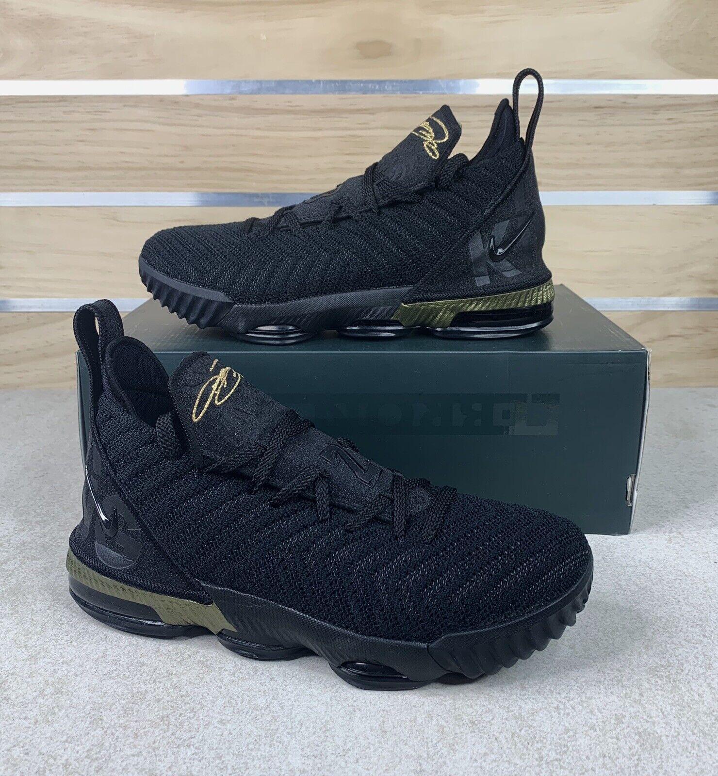 Nike Lebron XVI GS I Am King Black